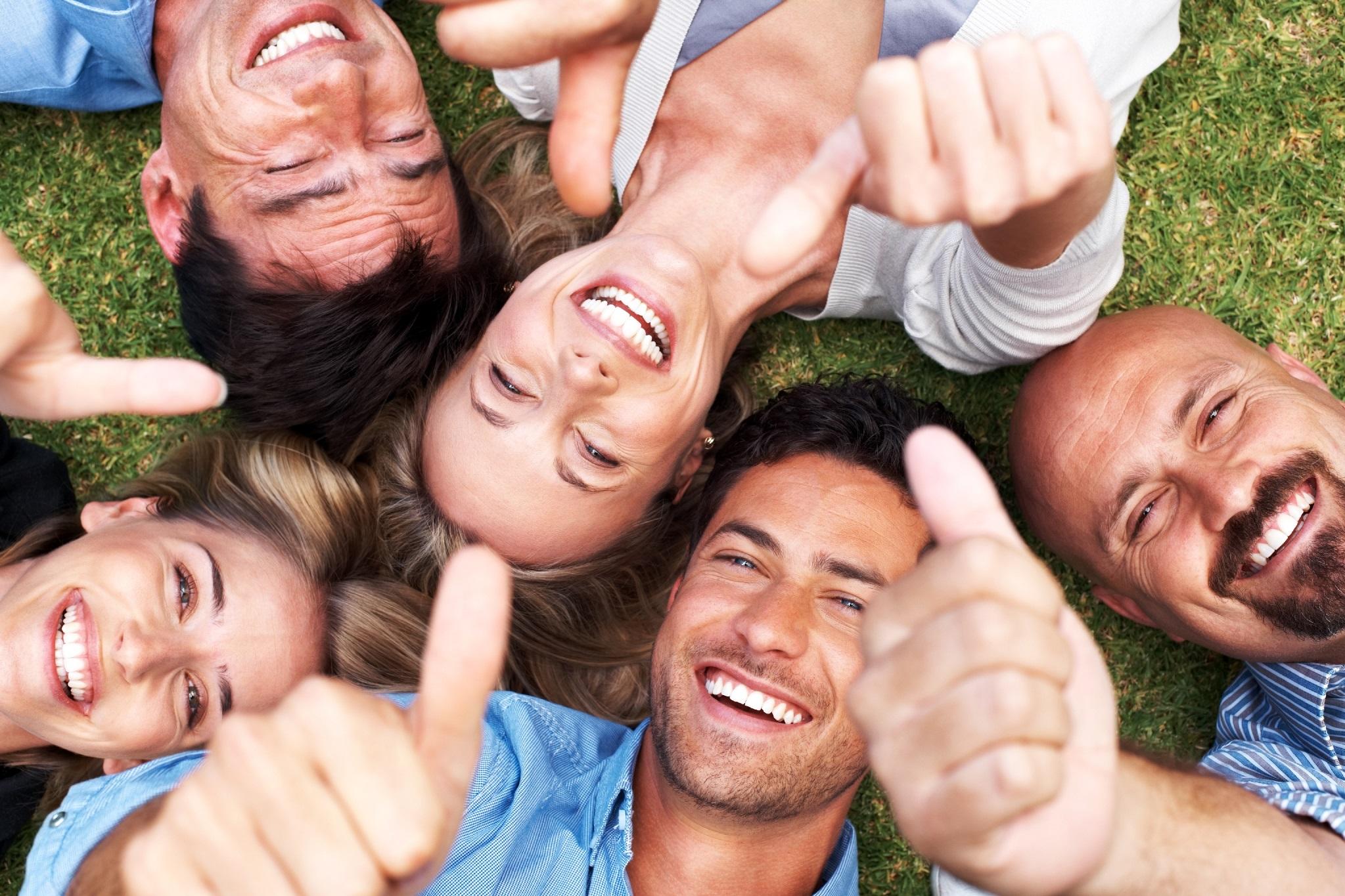 картинка оптимистичные люди